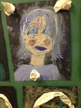 Pastel portrait Hana